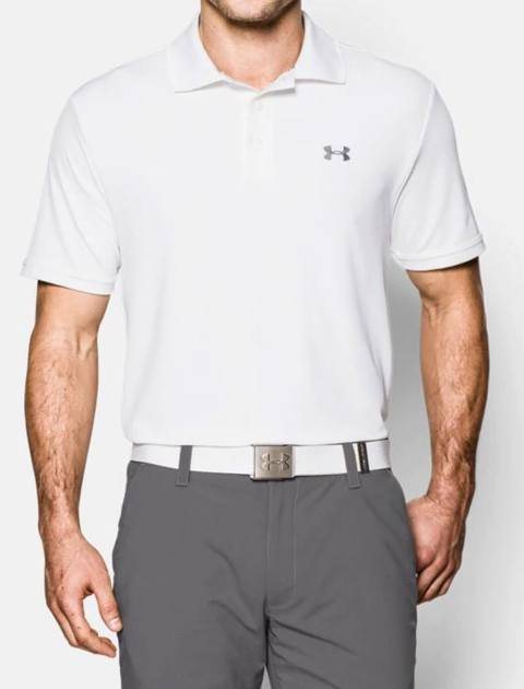 پولوشرت ورزشی آستین کوتاه مردانه - سفيد - 5