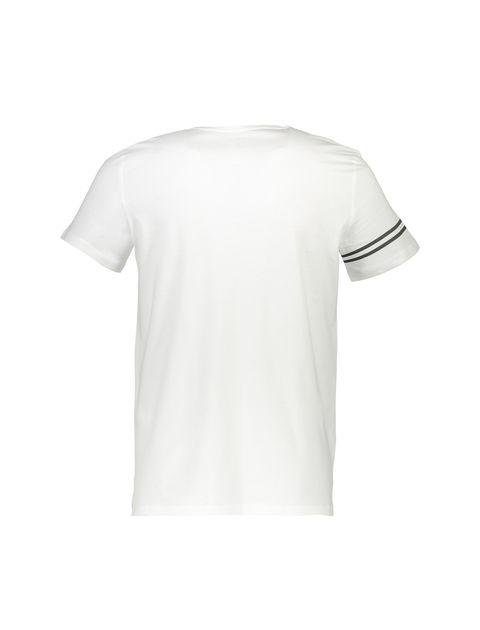 تی شرت نخی یقه گرد مردانه - دفکتو - سفيد - 2