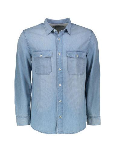 پیراهن جین آستین بلند مردانه