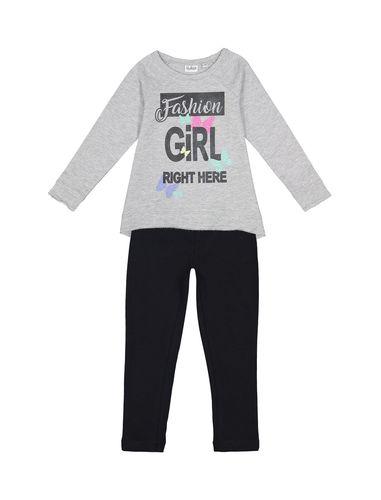 تی شرت و لگینگ نخی دخترانه - بلوکیدز