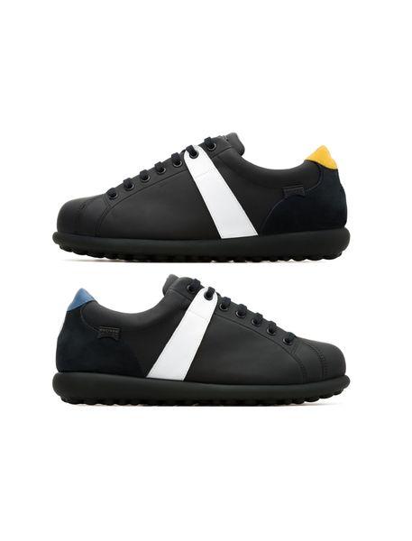 کفش راحتی چرم مردانه Mugello - مشکي - 2