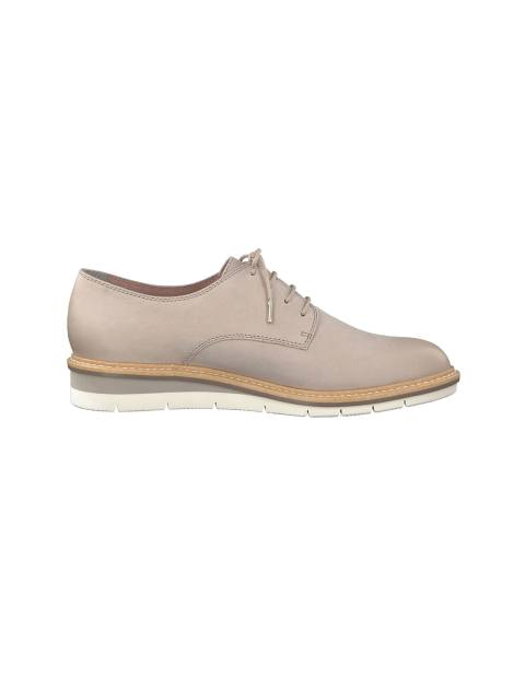کفش تخت چرم زنانه Kela - تاماریس - طوسي - 1