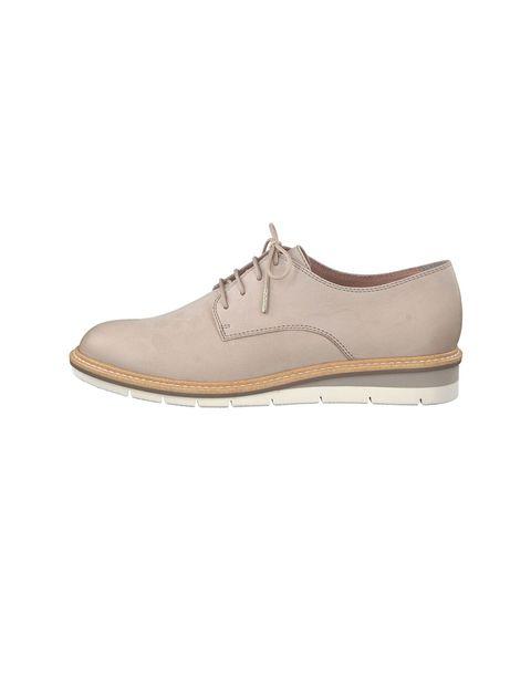 کفش تخت چرم زنانه Kela - تاماریس - طوسي - 3