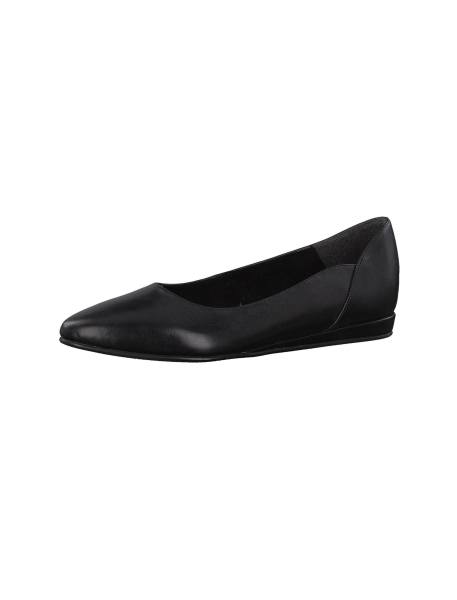 کفش تخت چرم زنانه Cecilia - مشکي - 1