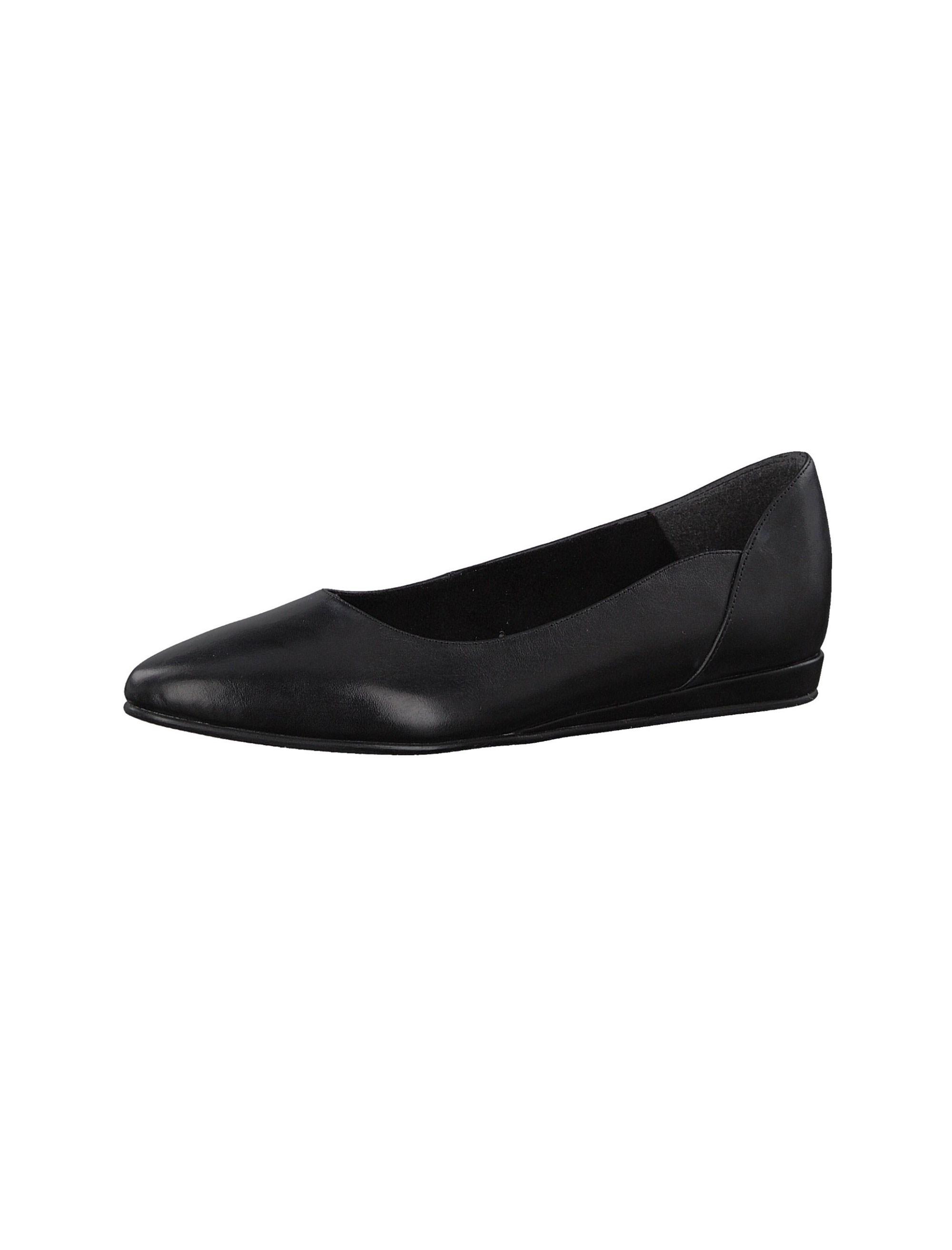 کفش تخت چرم زنانه Cecilia - تاماریس - مشکي - 1