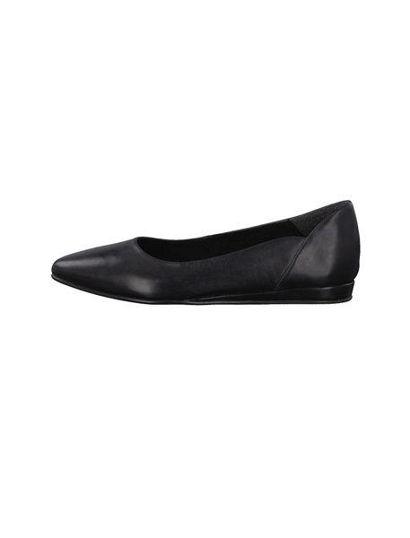 کفش تخت چرم زنانه Cecilia - مشکي - 2