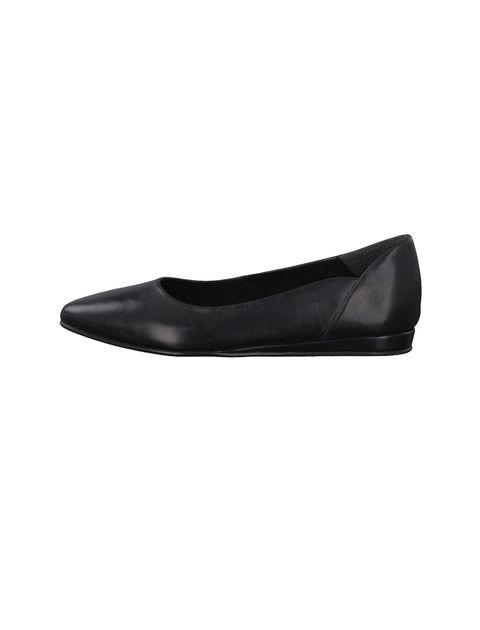 کفش تخت چرم زنانه Cecilia - تاماریس - مشکي - 2