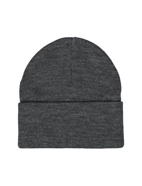 کلاه بافتنی بانی مردانه - زغالي - 2