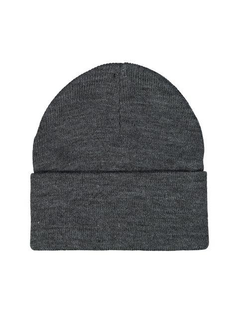 کلاه بافتنی بانی مردانه - سلیو - زغالي - 2