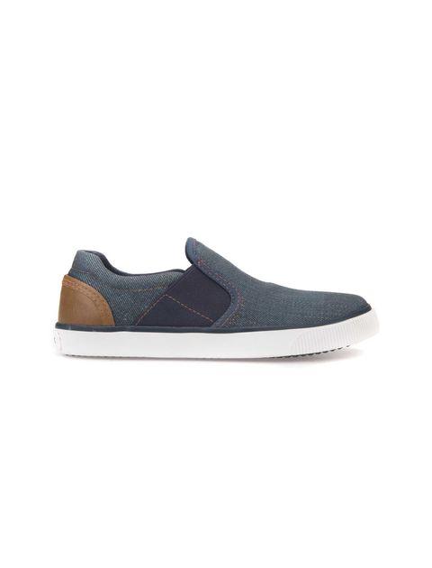 کفش راحتی بند کشی پسرانه - آبي - 1