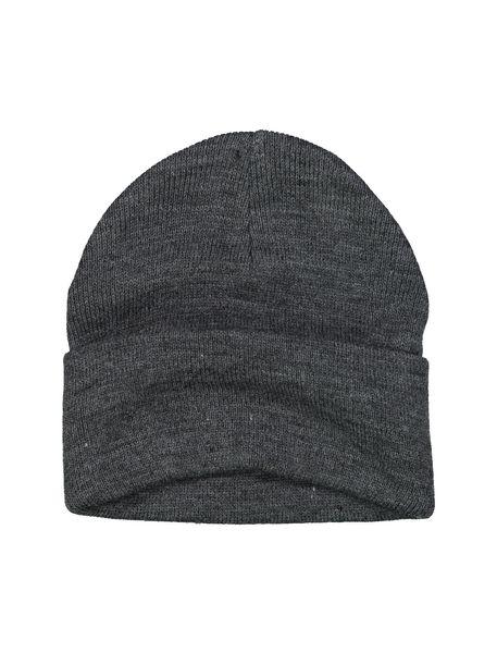 کلاه بافتنی بانی مردانه - زغالي - 3