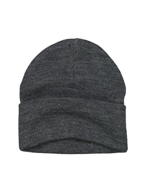 کلاه بافتنی بانی مردانه - سلیو - زغالي - 3