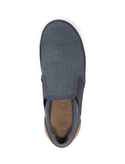 کفش راحتی بند کشی پسرانه - آبي - 4