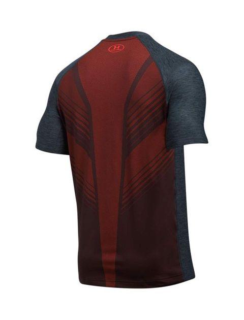 تی شرت ورزشی آستین کوتاه مردانه - زغالي - 2