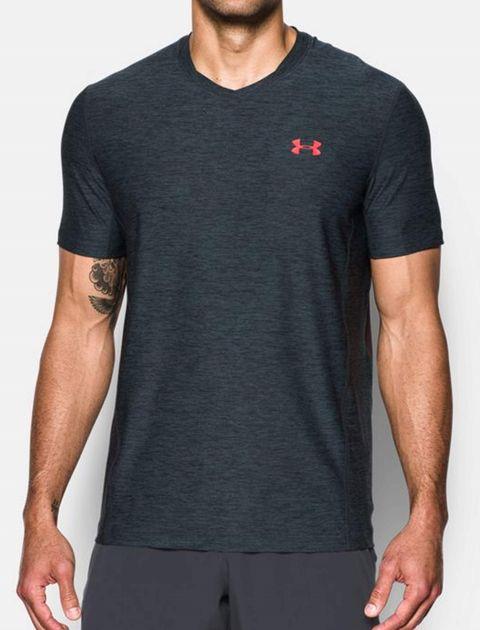 تی شرت ورزشی آستین کوتاه مردانه - زغالي - 3