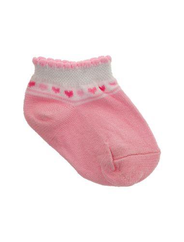 جوراب نخی نوزادی بسته 3 عددی