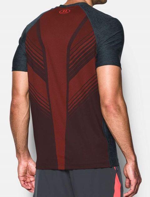 تی شرت ورزشی آستین کوتاه مردانه - زغالي - 4