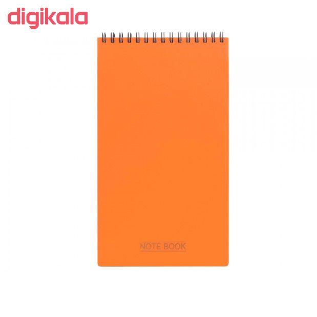 دفتر یادداشت 80 برگ پاپکو مدل مهندسی کد NB-614 main 1 5
