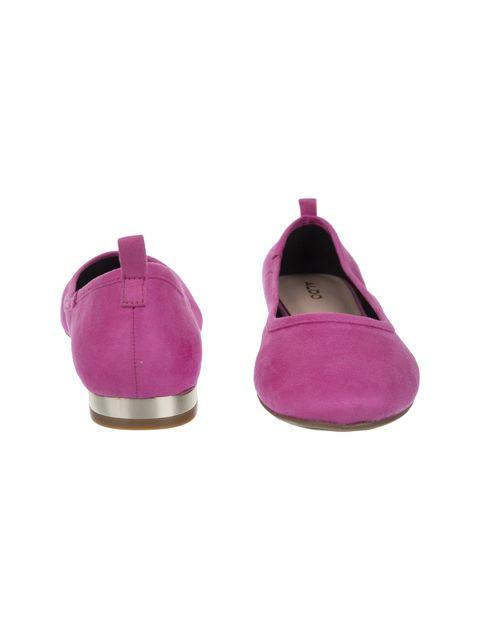 کفش تخت عروسکی زنانه - صورتي - 5