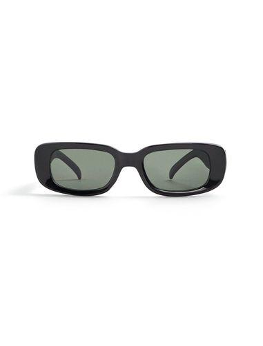 عینک آفتابی مستطیلی زنانه - مانگو