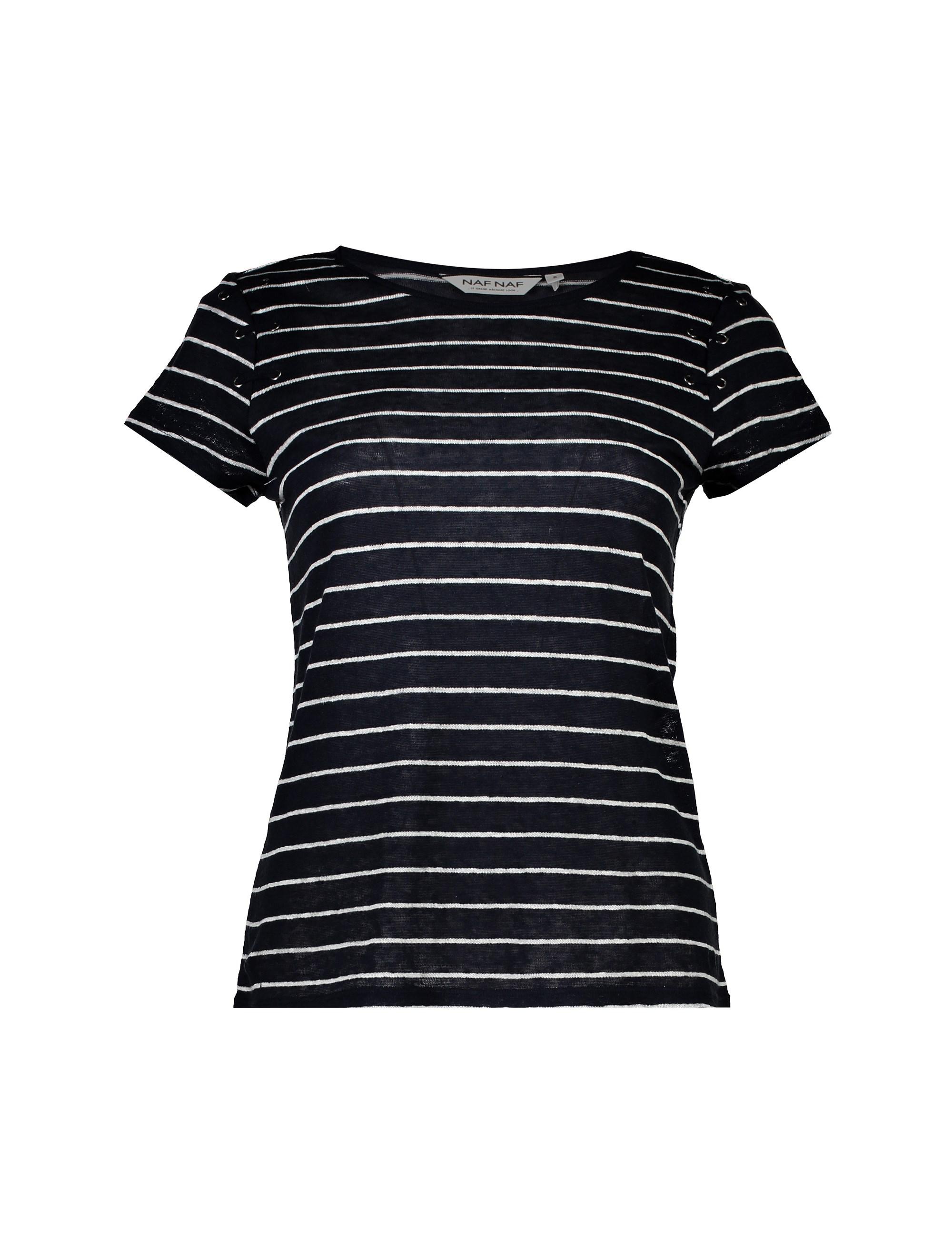 تی شرت یقه گرد زنانه - نف نف