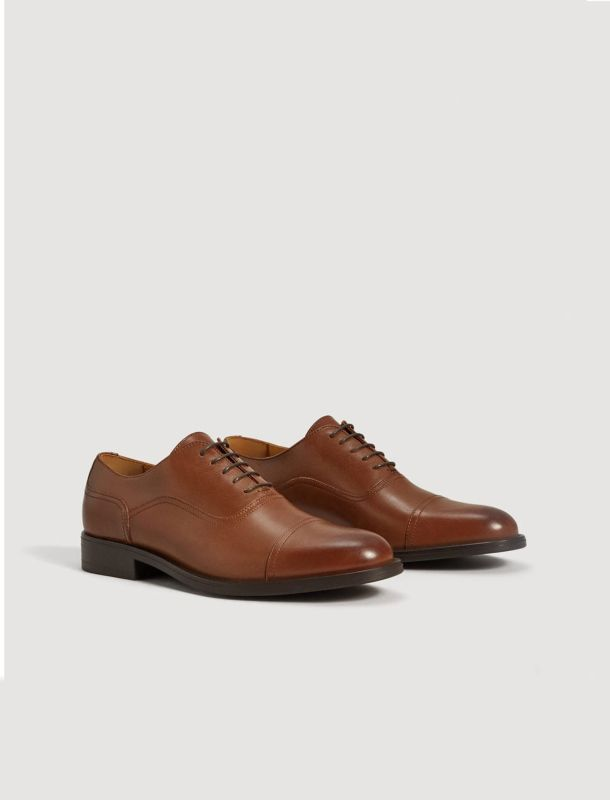 کفش چرم رسمی مردانه - مانگو