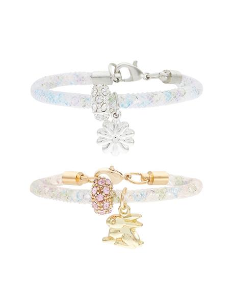 دستبند دخترانه بسته دو عددی - مانسون چیلدرن تک سایز