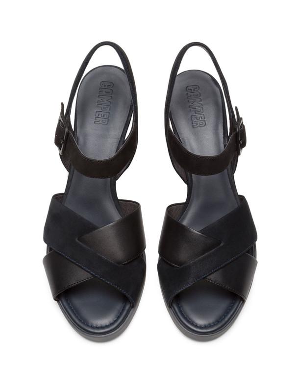 کفش پاشنه بلند چرم زنانه Kara