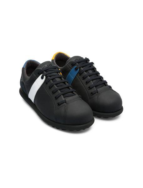 کفش راحتی چرم مردانه Mugello - مشکي - 5