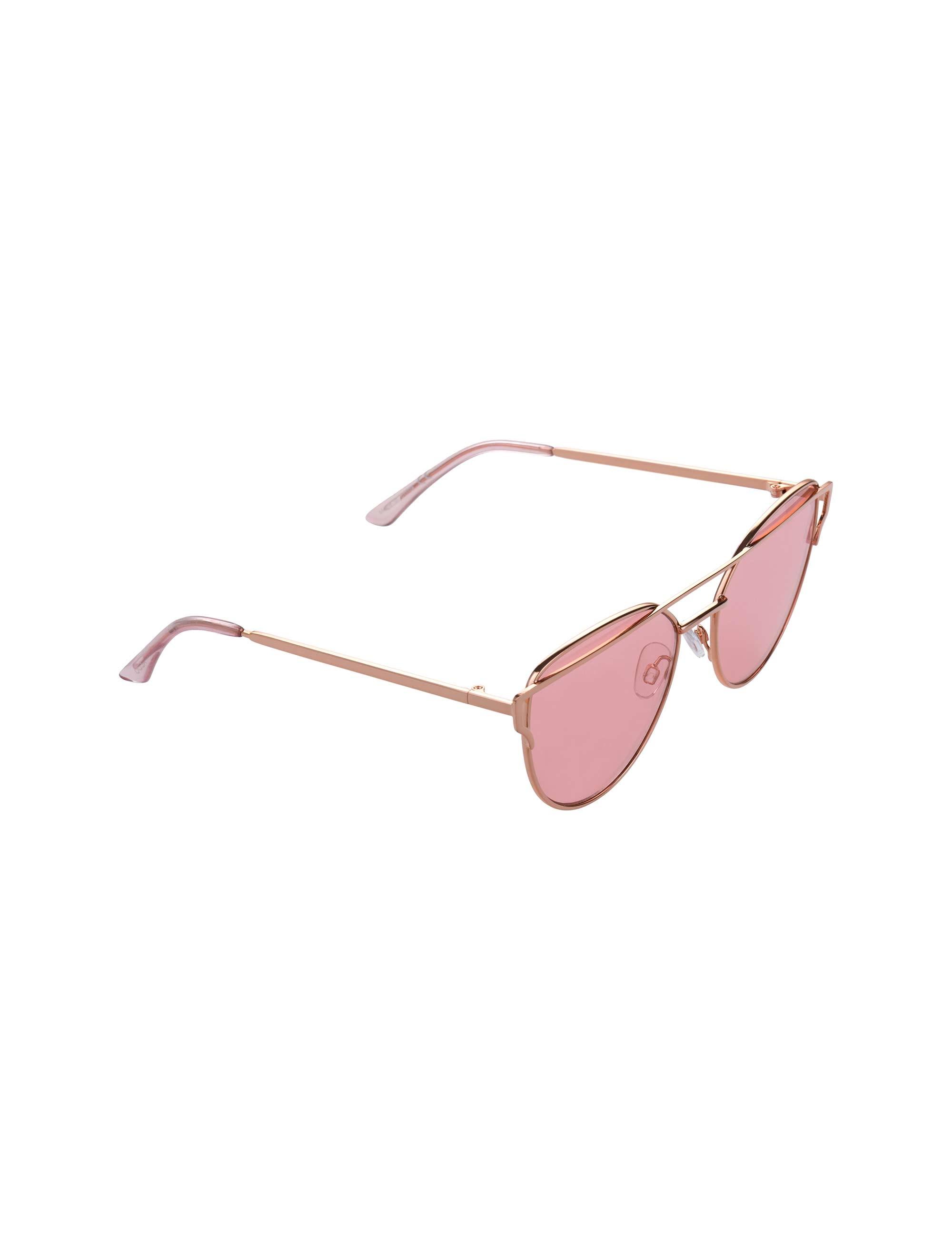 عینک آفتابی گربه ای زنانه - طلايي - 2