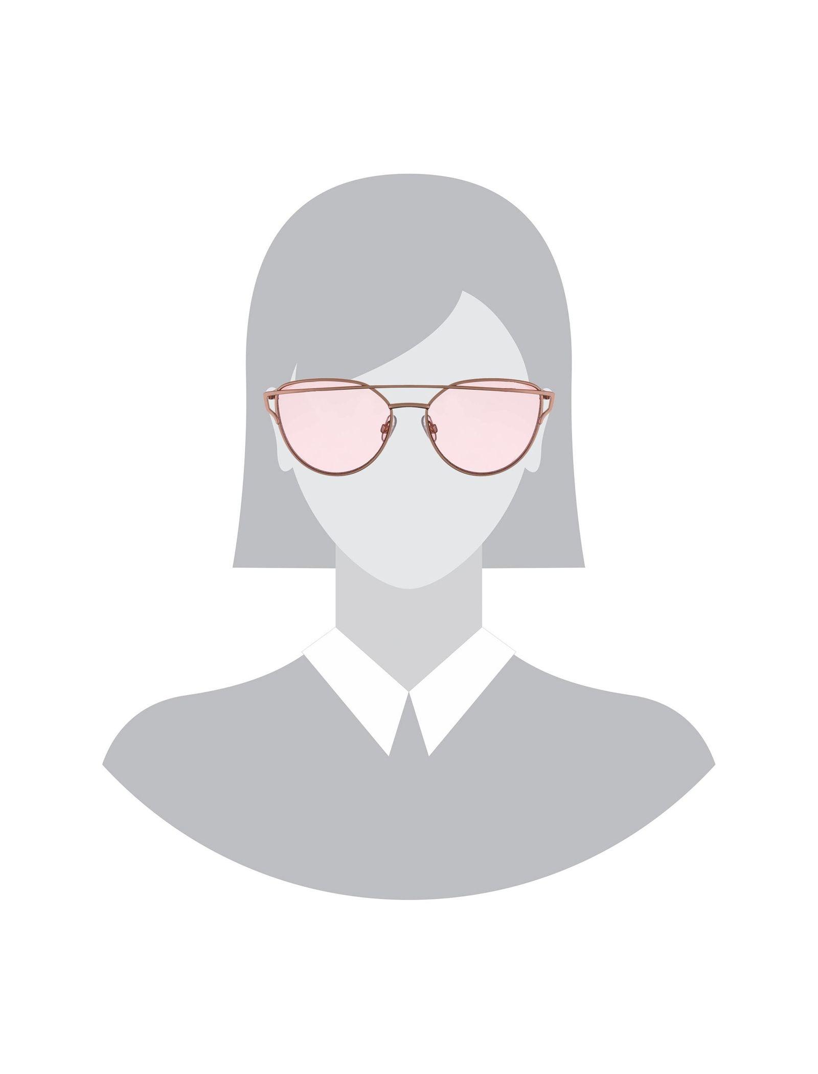 عینک آفتابی گربه ای زنانه - آلدو - طلايي - 6