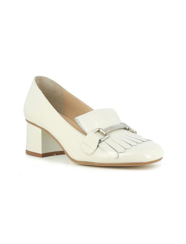 کفش پاشنه دار چرم زنانه - ژوناک