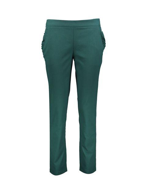 شلوار راسته زنانه - دفکتو - سبز - 1