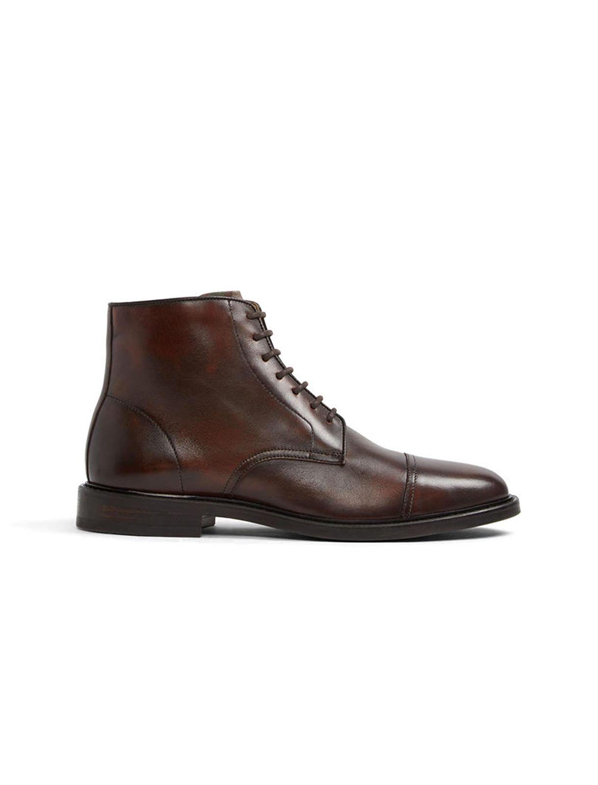 نیم بوت چرم رسمی مردانه – آلدو  Men Leather Formal Ankle Boots – Aldo