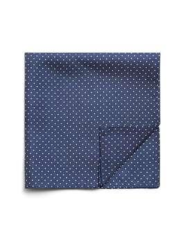 دستمال جیب ابریشم طرح دار مردانه