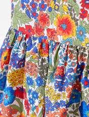 پیراهن نخی روزمره دخترانه Lianabis - جاکادی - چند رنگ - 4