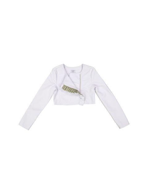 کت کوتاه دخترانه - سفيد - 1