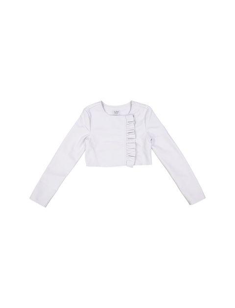 کت کوتاه دخترانه - سفيد - 3