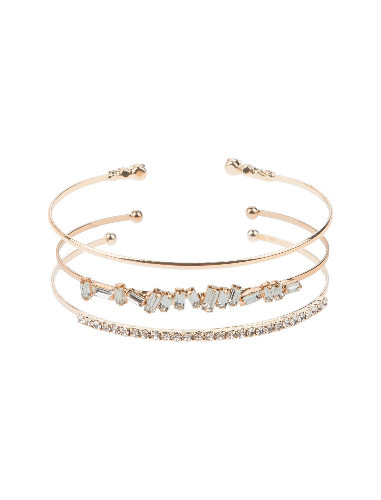 دستبند النگویی زنانه بسته 3 عددی - آلدو تک سایز - طلايي - 1
