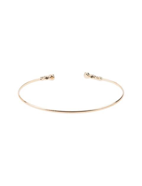 دستبند النگویی زنانه بسته 3 عددی - طلايي - 2
