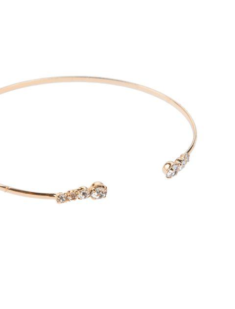 دستبند النگویی زنانه بسته 3 عددی - طلايي - 3
