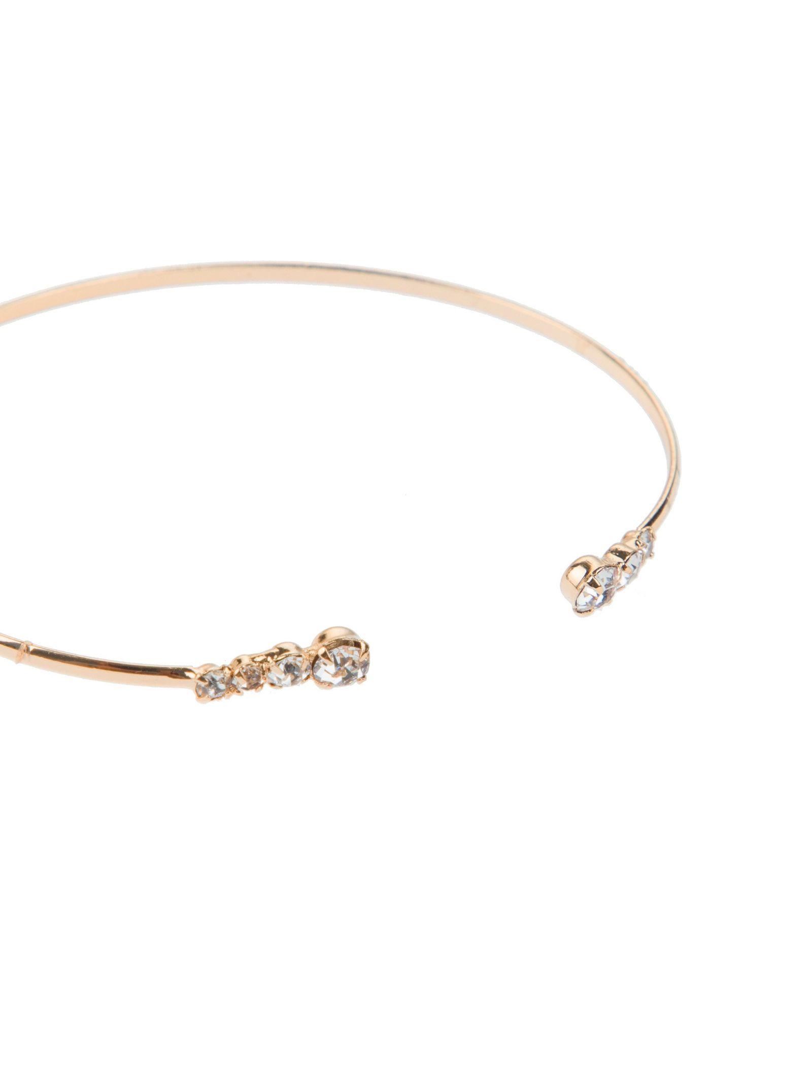 دستبند النگویی زنانه بسته 3 عددی - آلدو تک سایز - طلايي - 3