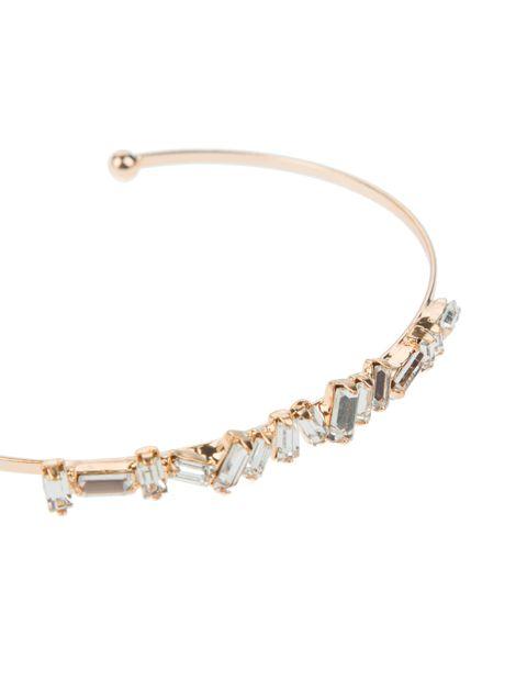 دستبند النگویی زنانه بسته 3 عددی - طلايي - 5