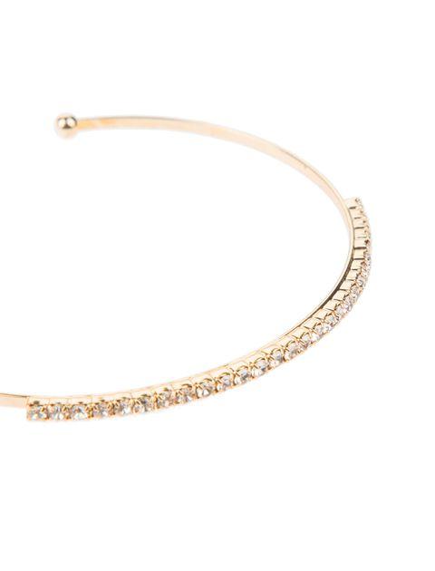 دستبند النگویی زنانه بسته 3 عددی - طلايي - 7