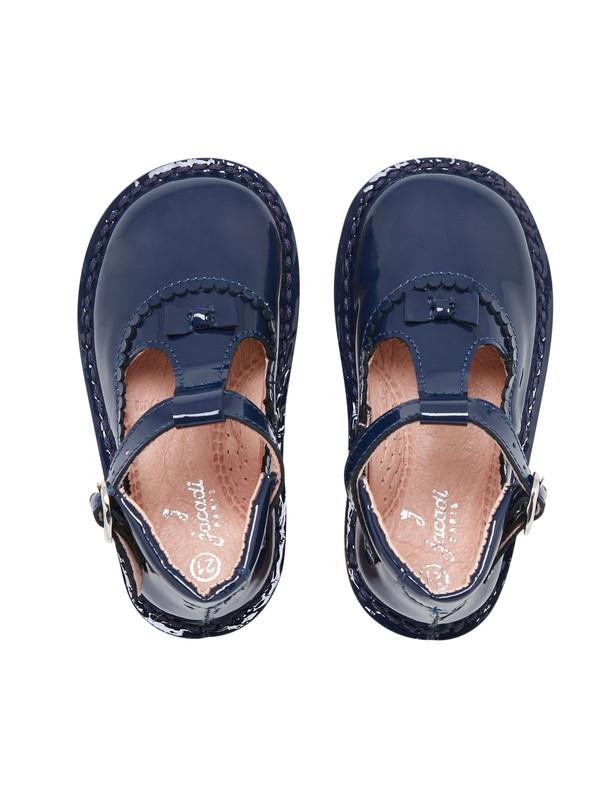 کفش چرم نوزادی دخترانه Souris