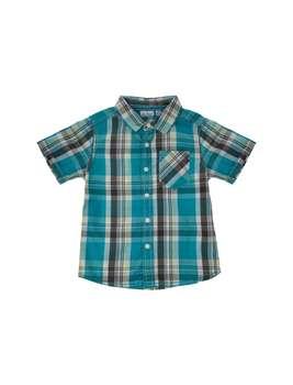 پیراهن نخی یقه برگردان پسرانه   Boys Cotton Turn Over Collar Shirt
