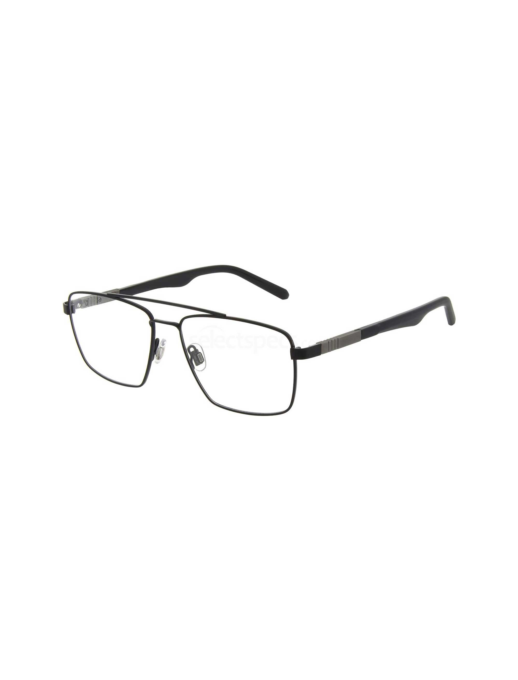 عکس عینک طبی مستطیلی مردانه - اسپاین