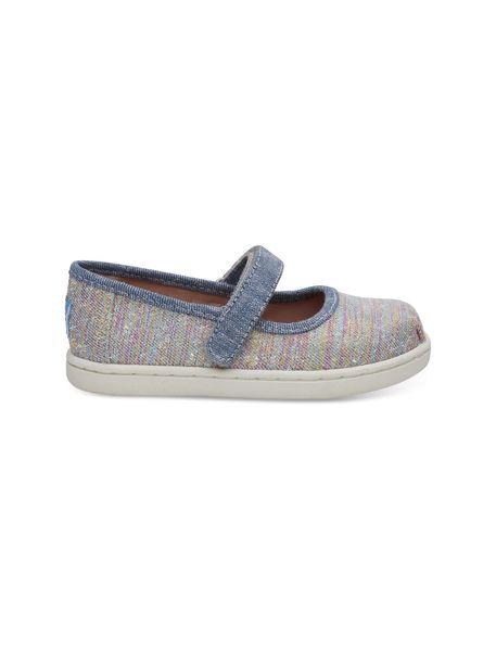 کفش پارچه ای چسبی دخترانه MARY - چند رنگ - 1