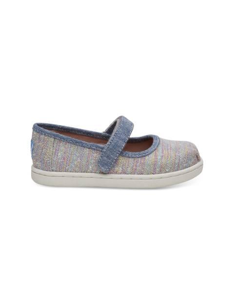 کفش پارچه ای چسبی دخترانه MARY - تامز - چند رنگ - 1