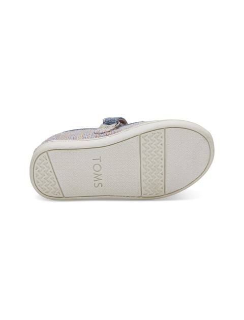کفش پارچه ای چسبی دخترانه MARY - تامز - چند رنگ - 2